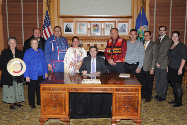Governor's recognition of November as Native American Heritage Month in Kansas