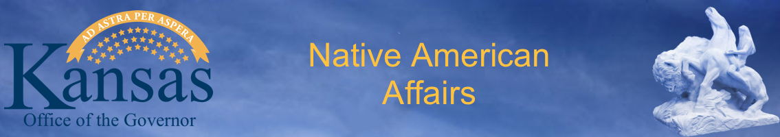 Kansas Native American Affairs Banner